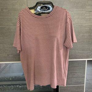NWT The striped boyfriend shirt